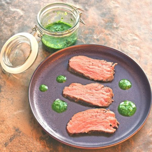 Tri-Tip Steak with Chimichurri