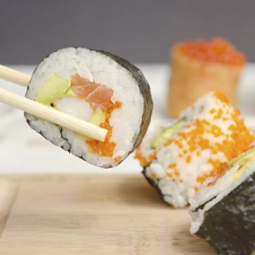 Home-made Sushi Rolls