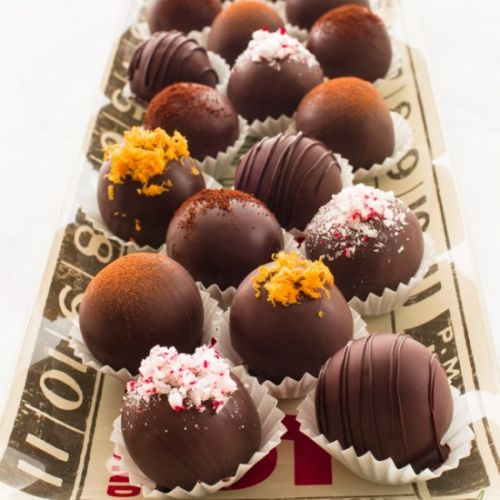 Chocolate Truffles- Five Flavors