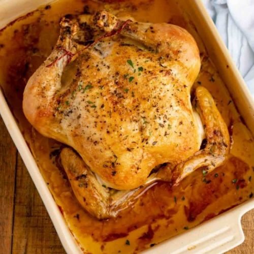 The PERFECT Simple Roast Chicken