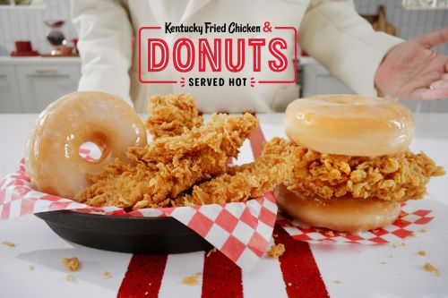 KFC Brings Piping Hot Kentucky Fried Chicken & Donuts To Its Restaurants Nationwide
