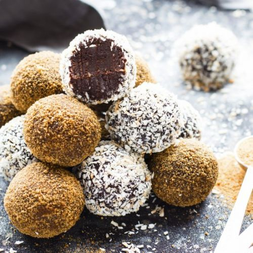 Paleo Chocolate Fudge Truffles
