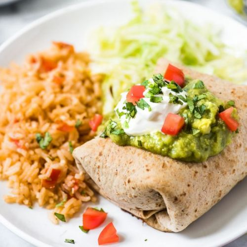 Easy Chicken Chimichangas