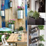 8 Ingenious Small-Space Garden Hacks