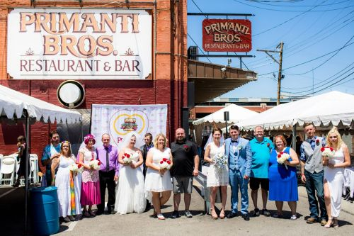 11 Couples Got Hitched at Primanti Bros. on July 13