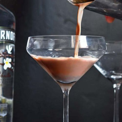 Chocolate Low Carb Martini