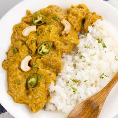 Healthy Easy Chicken Korma Recipe