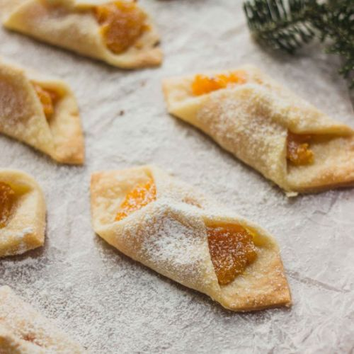 Polish Apricot Filled Cookies