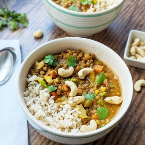 One-Pot Coconut Lentil Curry