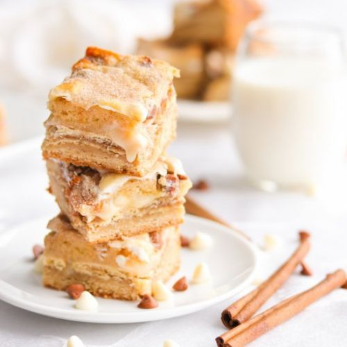 Snickerdoodle Magic Bars