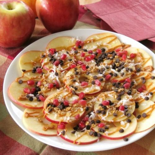 Healthy Apple Nachos