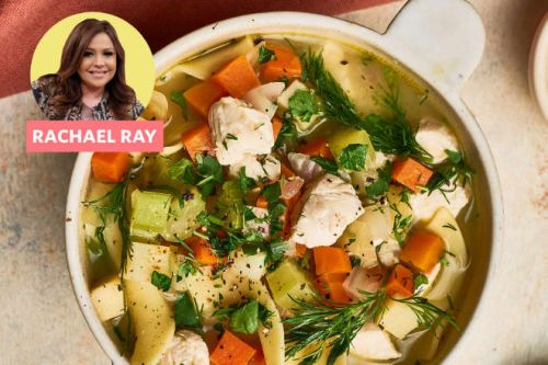 Rachael Ray's Chicken Soup Delivers a Ton of Flavor in Just 30 Minutes