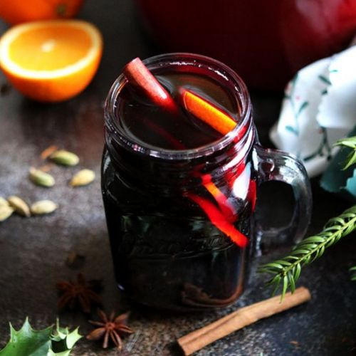 German Mulled Wine: Gluhwein