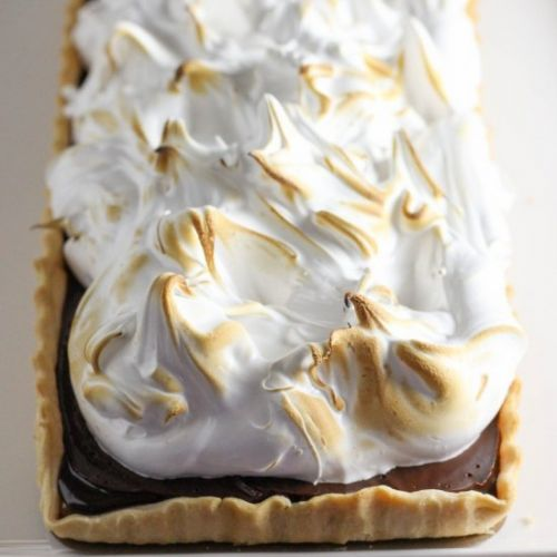 Dulce Chocolate Meringue Pie