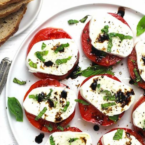 Classic Caprese Salad with Balsamic