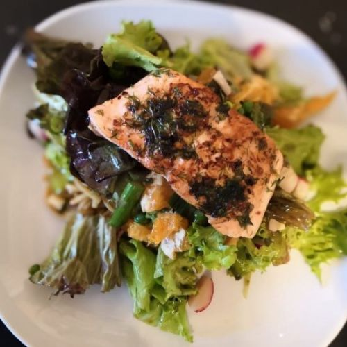 Healthy Feel- Good Salmon Salad