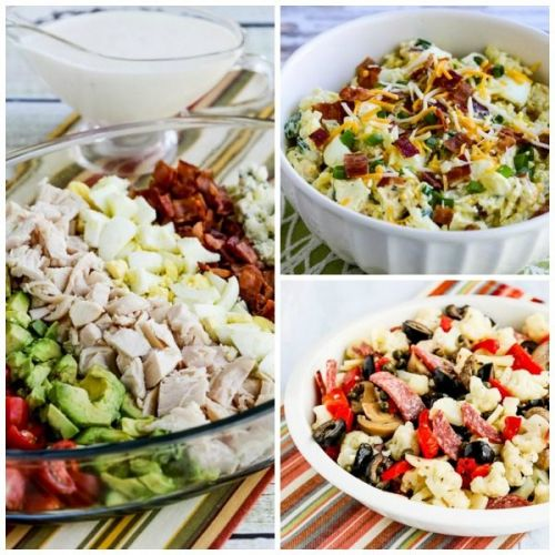 The BEST Low-Carb and Keto Salads for Summer Dinners