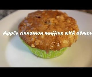 Apple Cinnamon Muffins With Almonds Recipe