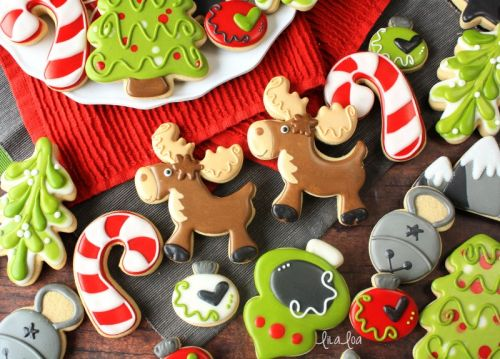 How To Make Decorated Moose Sugar Cookies