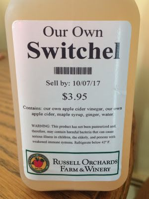 Switchel: A Colonial Drink From Russell Orchards