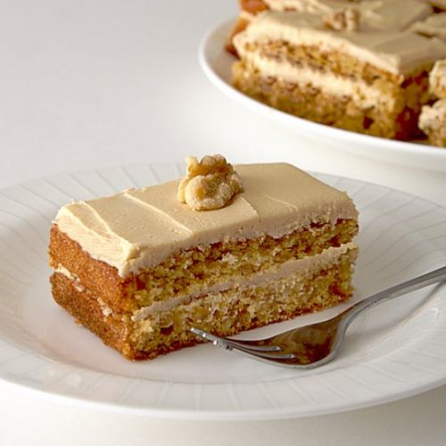 Coffee Walnut Cakes