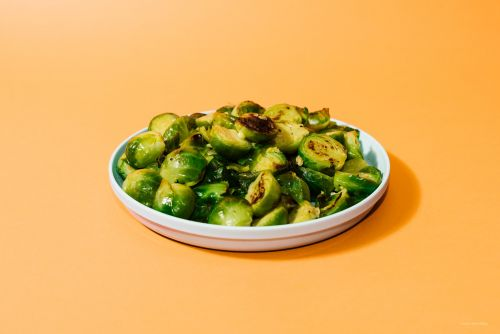 It's Easy Being Green: Super Tender Instant Pot Garlic Butter Brussels Sprouts Recipe