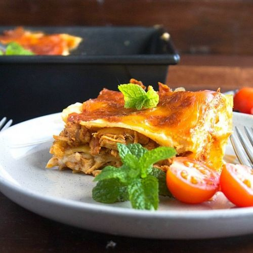 Butter Chicken Lasagna