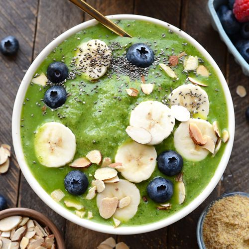 Healthy Green Smoothie Bowl