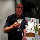 Stanley Tucci, Our Favorite Bartender, Teaches James Corden to Make His Very First Martini