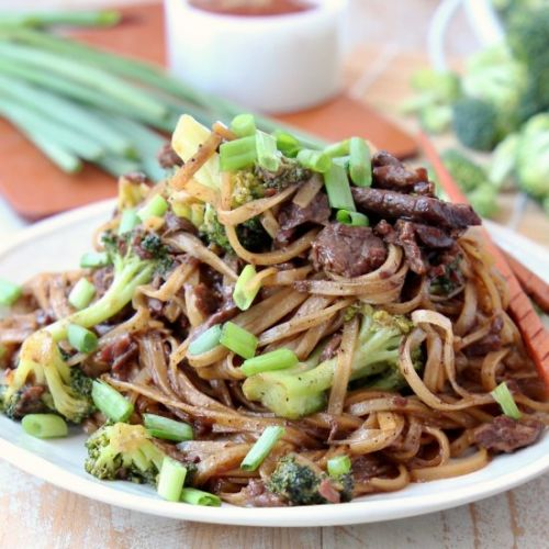 Black Pepper Beef & Broccoli
