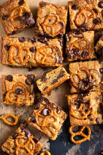 Mike Bakes Brownies Just the Way We Like Them