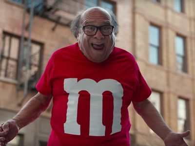 Danny DeVito Is a Human M&M in this Super Bowl Commercial