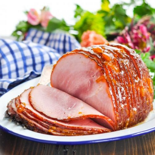 Baked Ham with Apricot Glaze