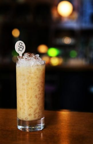 Oat Milk & Honey Cocktail