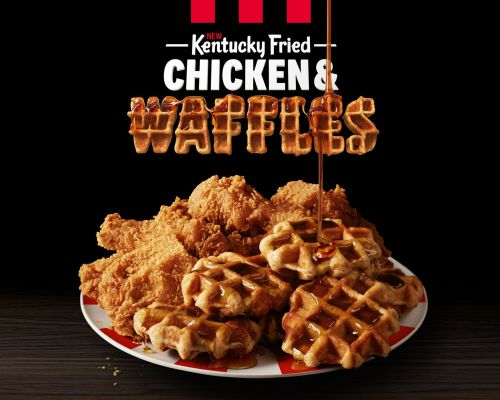KFC Is Serving Chicken & Waffles - Now You Can Have Brunch Anytime, Anywhere