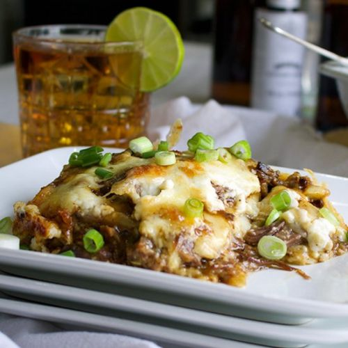 Asian Short Rib Lasagna