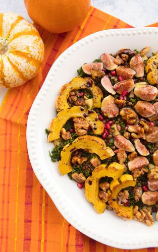 Lentil and Squash Harvest Salad