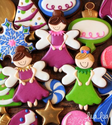 How to Make Decorated Sugar Plum Fairy Cookies