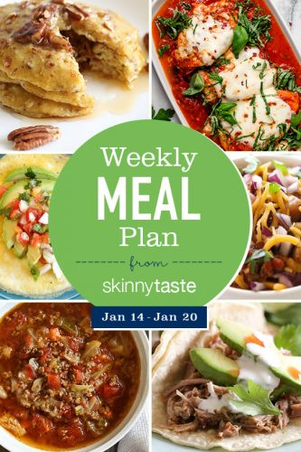 Simply Recipes 2019 Meal Plan: January Week 3