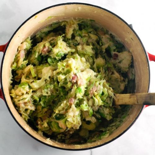 Bacon & Sprout Colcannon