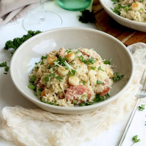 Creamy Cauliflower Risotto