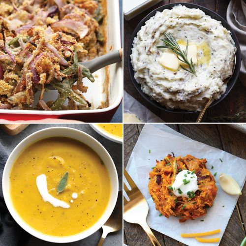 45 Healthy Holiday Side Dishes for Thanksgiving, Christmas, and Hanukkah!