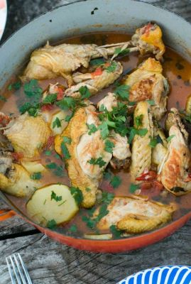 Provencal Chicken with Pastis
