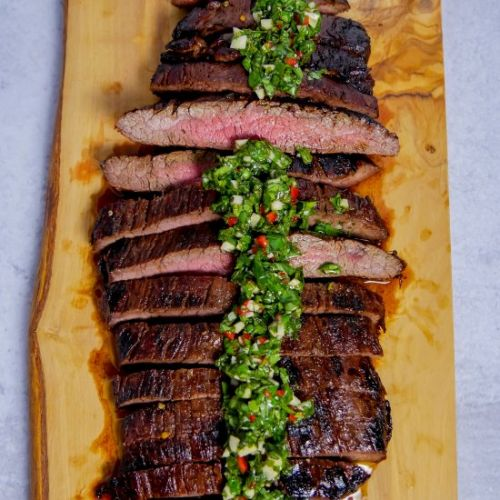 Marinated Flank Steak & Chimichurri