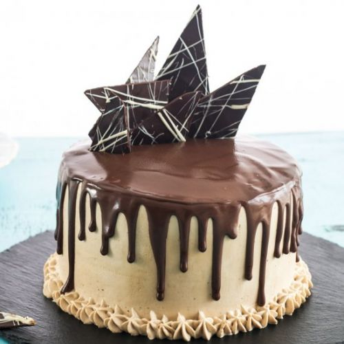 Chocolate Vertical Layer Cake