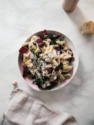 Get Your Vitamins From This Wintery Pasta Salad