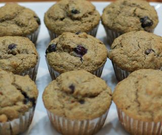 Acorn and Blueberry Muffins