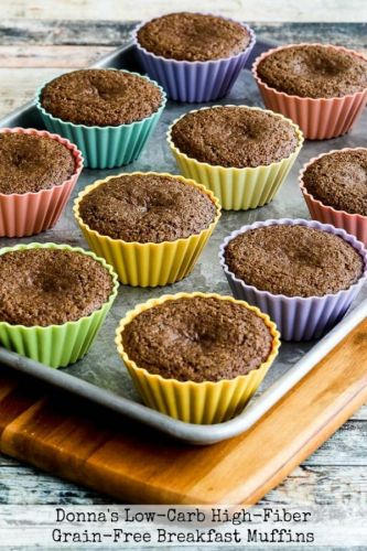 Donna's Low-Carb High-Fiber Grain-Free Breakfast Muffins