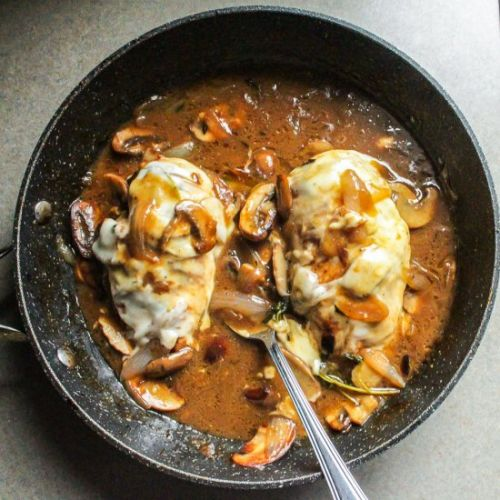 French Onion Smothered Chicken