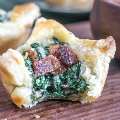 SPINACH PUFF PASTRIES